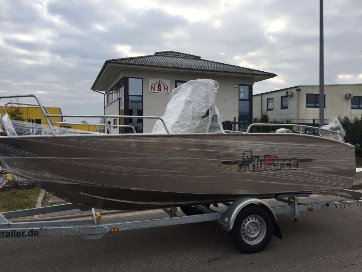Aluforce Aluminiumboot 570 – Bei unserem Bootsservice in Gustow.
